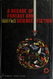 Cover of: A decade of Fantasy and science fiction by