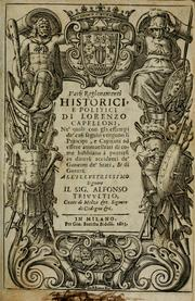 Cover of: Varij ragionamenti historici by