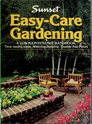 Cover of: Easy-care gardening |