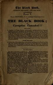 Cover of: The black book | John Wade
