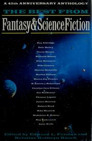 Cover of: The best from Fantasy & science fiction |