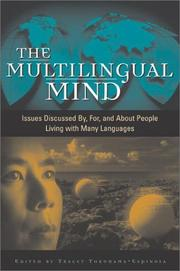 Cover of: The Multilingual Mind by Tracey Tokuhama-Espinosa