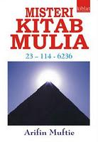 Cover of: Misteri Kitab Mulia by Arifin Muftie