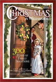 Cover of: Christmas in Williamsburg | K. M. Kostyal, Lori Epstein