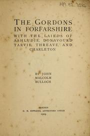 Cover of: The Gordons in Forfarshire | John Malcolm Bulloch