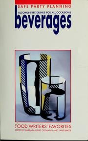 Cover of: Beverages |