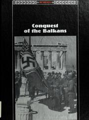 Cover of: Conquest of the Balkans by