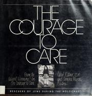 Cover of: The Courage to care |