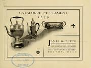 Cover of: Fine silverplated ware | James W. Tufts Company, Boston