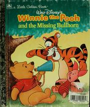 Cover of: Walt Disney's Winnie the Pooh and the missing bullhorn | Michael Teitelbaum