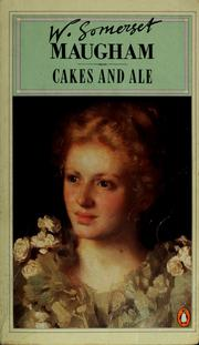 "book cover ""cakes and ale"""
