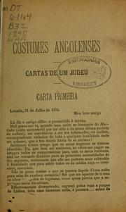Cover of: Costumes angolenses | Ladislau Batalha