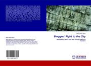 Cover of: Bloggers' Right to the City by Wael Salah El Din Ahmed Fahmi