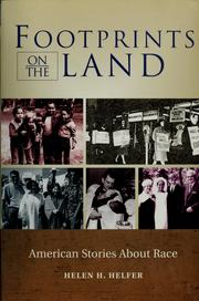 Cover of: Footprints on the land |