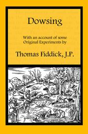 Cover of: Dowsing by Thomas Fiddick