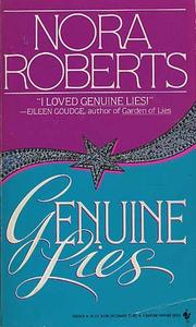 Cover of: Genuine lies | Nora Roberts