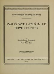 Cover of: Child religion in song and story | Georgia Louise Chamberlin