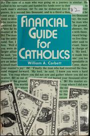 Cover of: Financial guide for Catholics by William A. Corbett