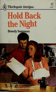 Cover of: Hold Back The Night | Beverly Sommers