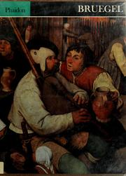 Cover of: Bruegel by Roberts, Keith