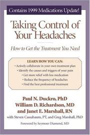 Cover of: Taking control of your headaches by Paul N. Duckro