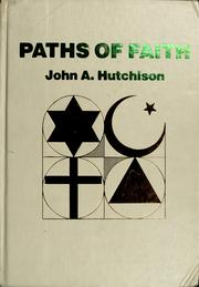 Cover of: Paths of Faith -Wb/1 | Hutchinson