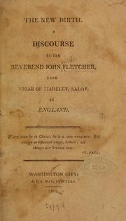 Cover of: The new birth | Fletcher, John