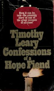 Cover of: Confessions of a hope fiend by