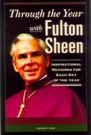 Cover of: Through the Year With Fulton Sheen by Fulton Sheen