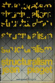 Cover of: Structuralisme | Jean Piaget