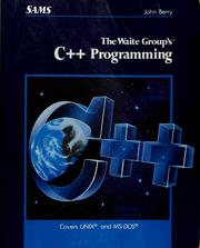 Cover of: The Waite Group's C++ programming by John Thomas Berry