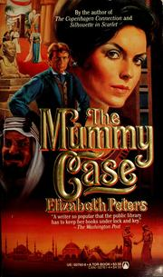 Cover of: The mummy case by Elizabeth Peters