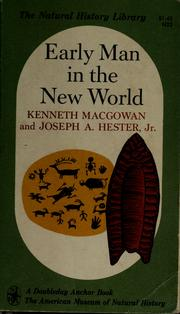 Cover of: Early man in the New World | Kenneth Macgowan