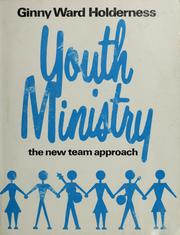 Cover of: Youth ministry | Ginny Ward Holderness