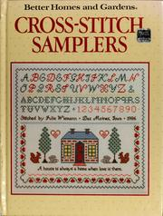Cover of: Cross-stitch samplers by