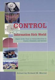 Cover of: Control in an Information Rich World | Richard M. Murray