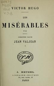 Cover of: Les misérables by Victor Hugo