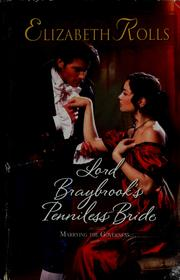 Lord Braybrook's Penniless Bride