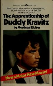 a book report on apprenticeship of duddy kravitz by mordecai richler Npr coverage of the apprenticeship of duddy kravitz by mordecai richler news, author interviews, critics' picks and more.