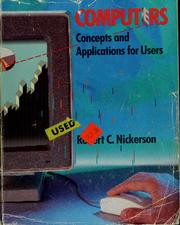 Cover of: Computers by Robert C. Nickerson