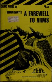Cover of: A farewell to arms | James Lamar Roberts