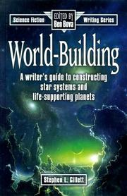 Cover of: World-building | Stephen Lee Gillett