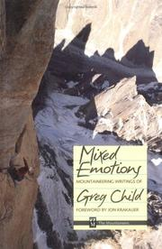 Cover of: Mixed emotions | Greg Child