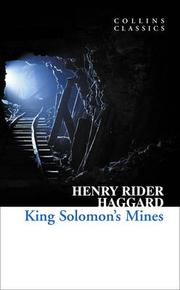 Cover of: King Solomon's mines by H. Rider Haggard