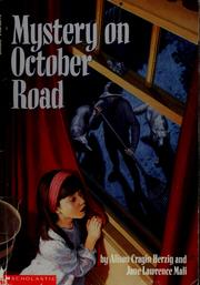 Cover of: Mystery on October Road | Alison Cragin Herzig