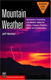 Cover of: Mountain Weather | Jeff Renner