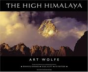 Cover of: The High Himalaya | Art Wolfe