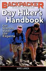 Cover of: Day Hiker's Handbook | Michael L. Lanza