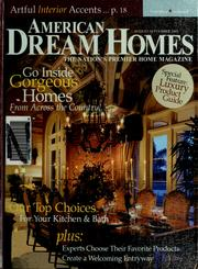Cover of: The best of American dream homes | Lisa S. Siglag