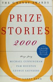 Cover of: Prize stories, 2000 |